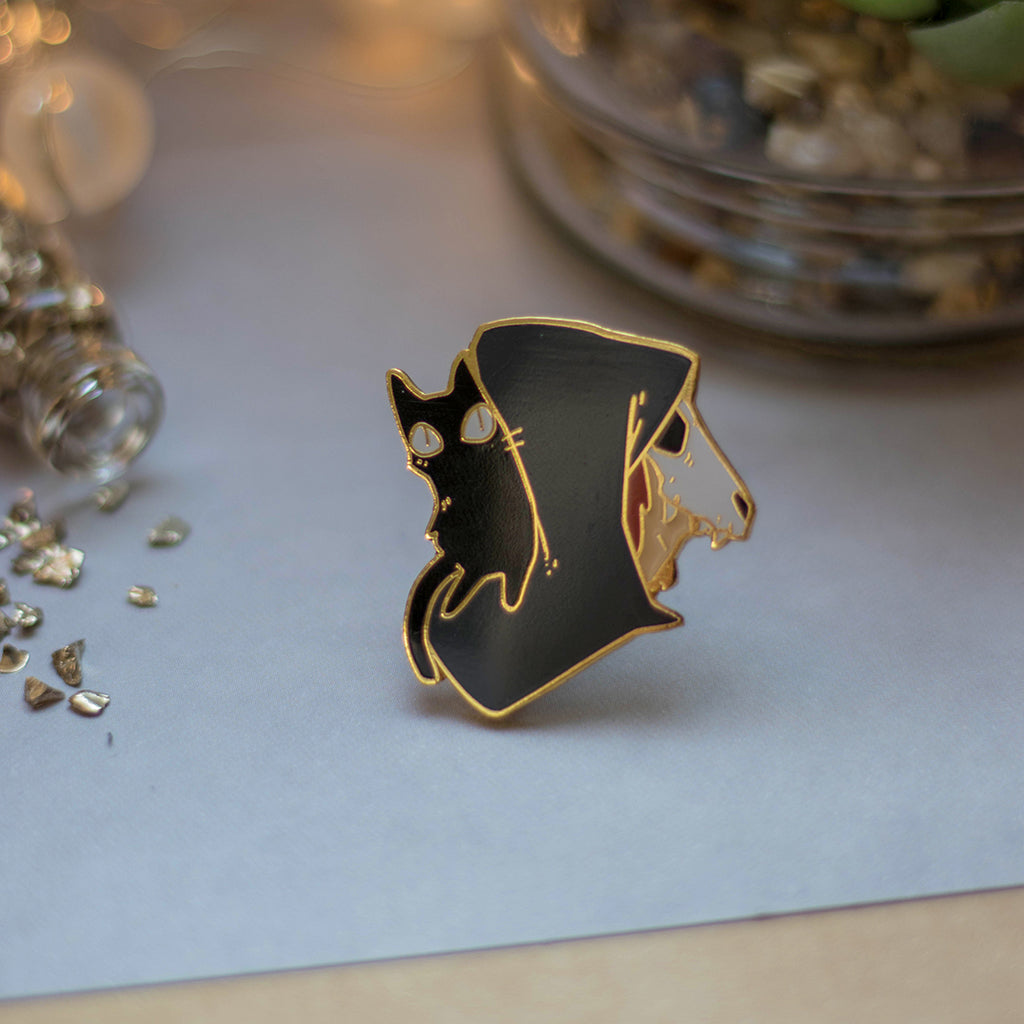 The Witch | Enamel Pin - Aurigae Art &Illustration