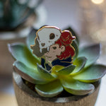 Load image into Gallery viewer, Stella the Witch | Enamel Pin - Aurigae Art &Illustration