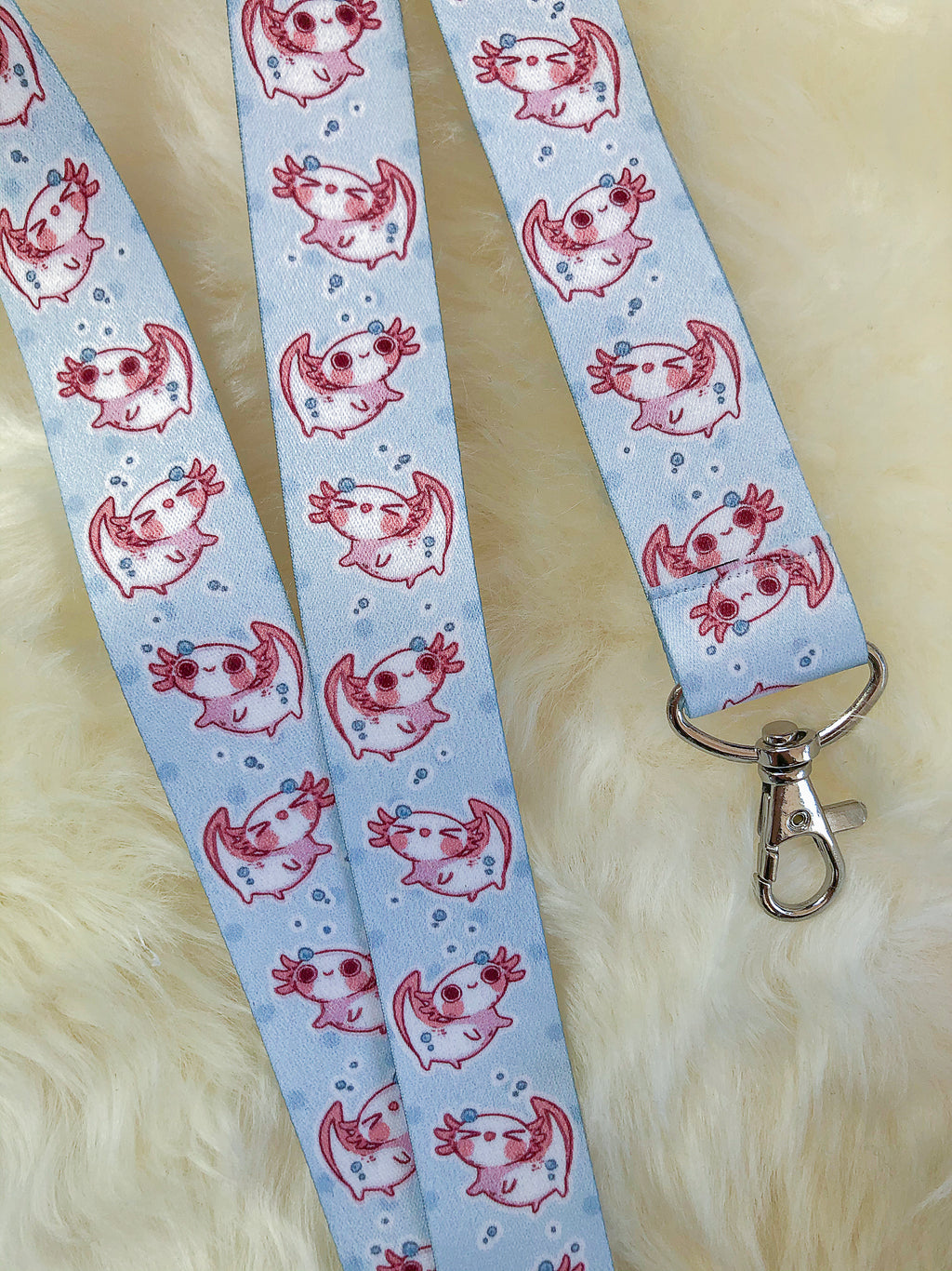 So many Axolotl | Lanyards - Aurigae Art &Illustration