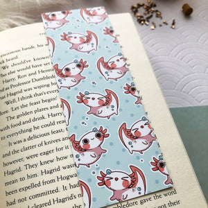 So many Axolotl | Bookmark - Aurigae Art &Illustration