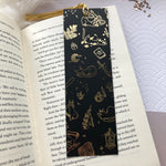 Load image into Gallery viewer, The Witch's Cat | Gold Foil Bookmark - Aurigae Art &Illustration