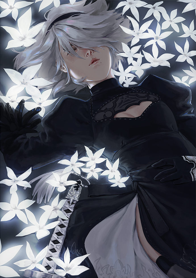 Nier:Automata - 2B | Print - Aurigae Art &Illustration