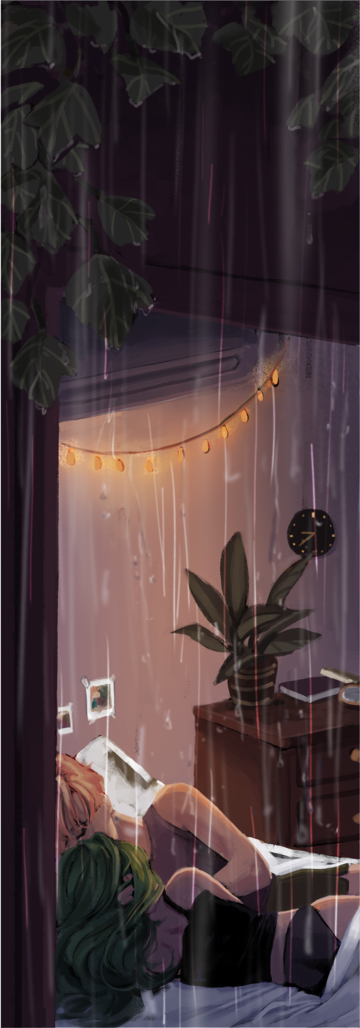 Rainy Day | Print - Aurigae Art &Illustration