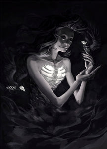 Skull Witch | Print - Aurigae Art &Illustration
