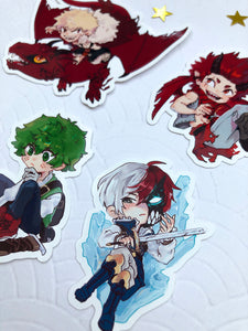 BNHA - Fantasy AU | Stickers - Aurigae Art &Illustration