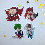 Load image into Gallery viewer, BNHA - Fantasy AU | Stickers - Aurigae Art &Illustration