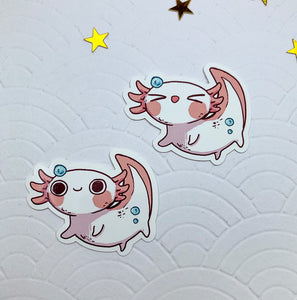Axolotl | Stickers - Aurigae Art &Illustration