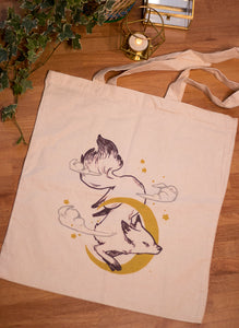 Moon Fox | Tote Bag - Aurigae Art &Illustration