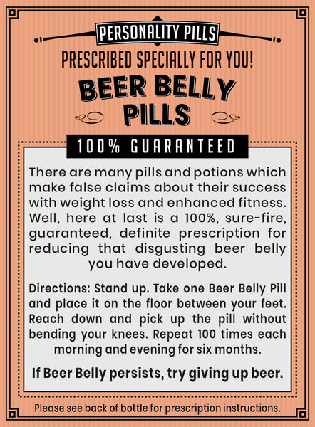 Beer Belly Pills