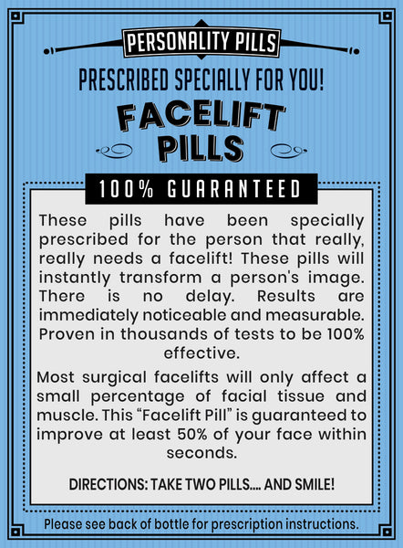 Facelift Pills
