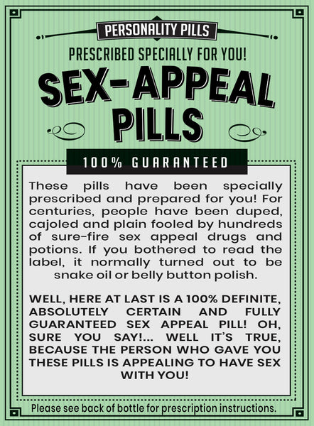Sex-Appeal Pills