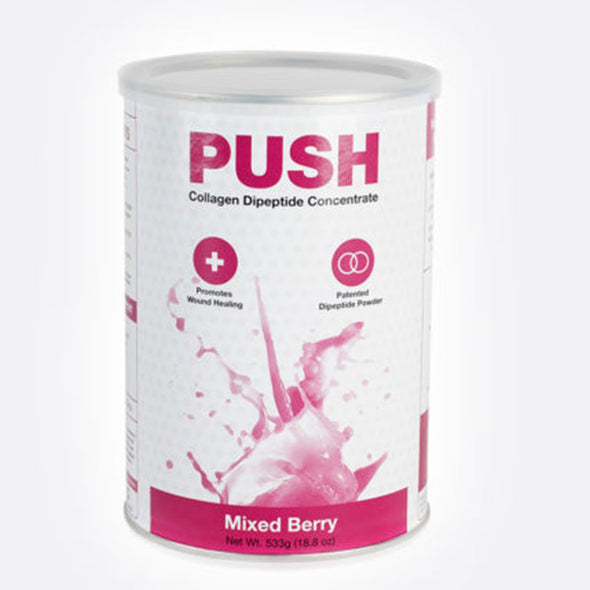 PUSH Wound Care Supplement-Mixed Berry Can