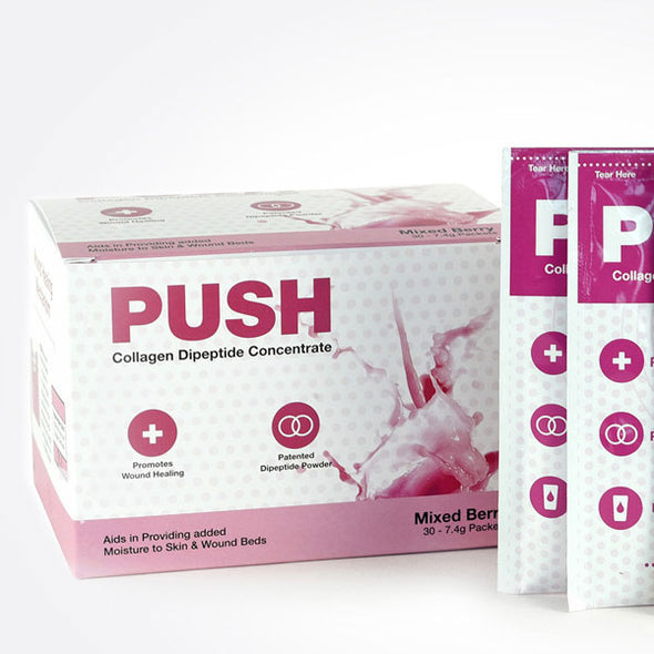 PUSH Wound Care Supplement-Mixed Berry Packets