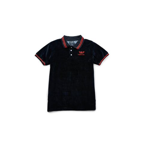 VELVET Black Polo Shirt