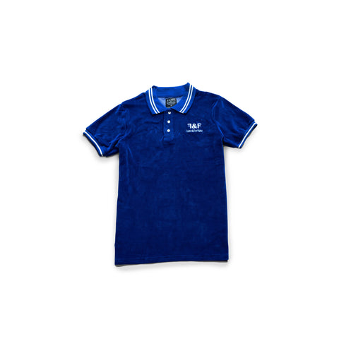 VELVET Blue Polo Shirt