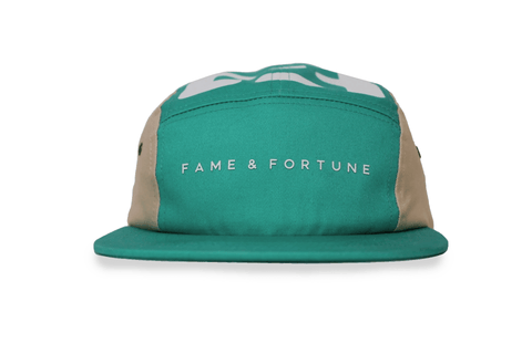 Mint 5 Pannel Hat