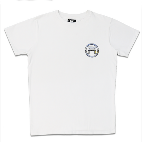 Chrome Tee White