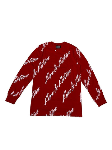 SIGNATURE Long Sleeve RED/WHITE