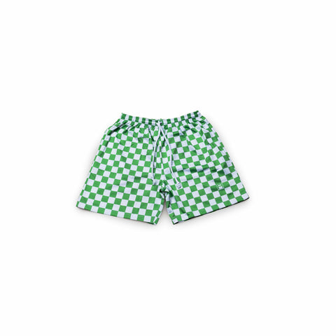 RACE Shorts GREEN
