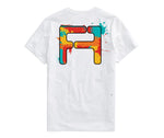 Splatter T-shirt Colorful VIBE