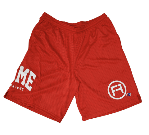 Champions Only Shorts RED