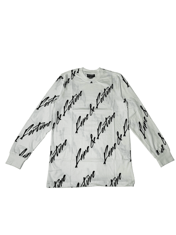 SIGNATURE Long Sleeve WHITE/BLK