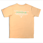 Ole English Tee - Pale Peach