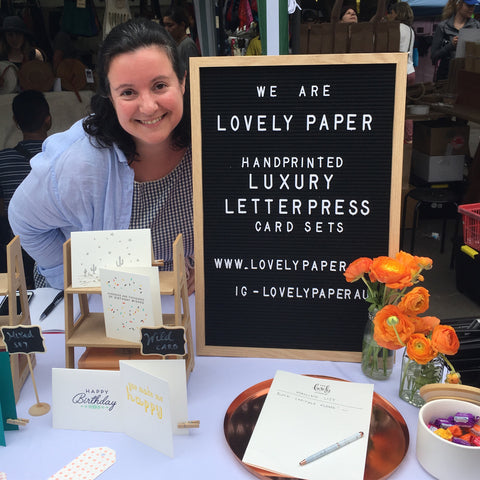 Bea from Lovely Paper Co.