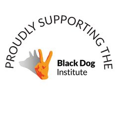 Lovely Paper supports the Black Dog Institute - mental health education, research and care
