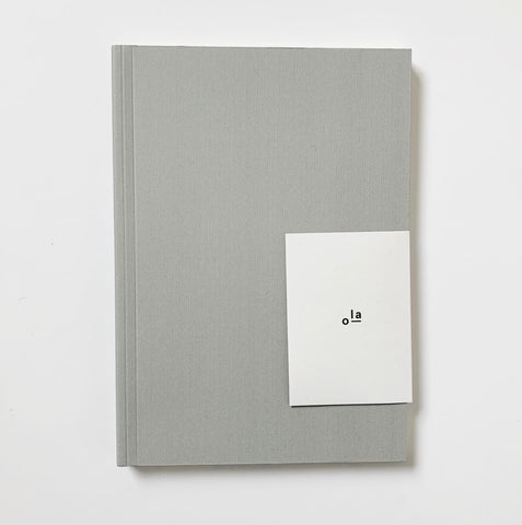 NEW: A5 Medium Layflat Notebook Hexagon Grey/Dotted Pages