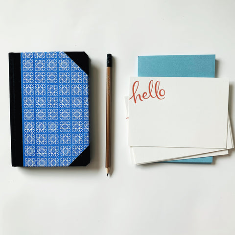 Blues Notebook & Notecards Gift Pack