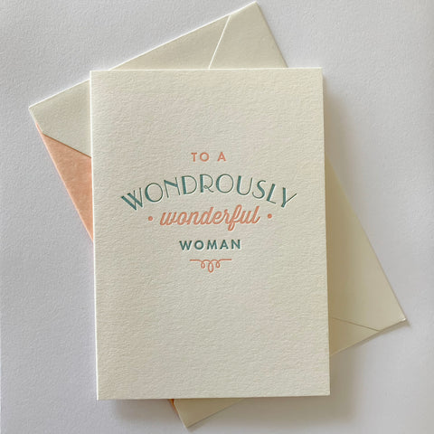 SOLD OUT: The Lovely Ladies Set - Four pack of letterpress cards