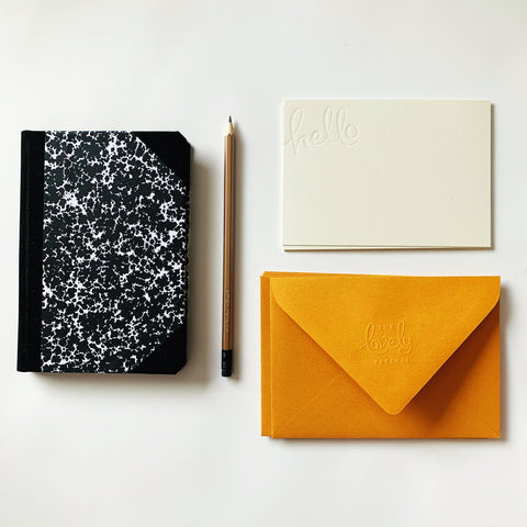 Classic Notebook & Notecards Gift Pack
