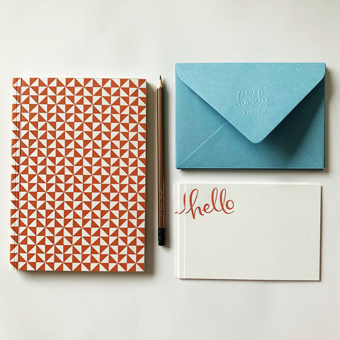Rust Notebook & Notecards Gift Pack