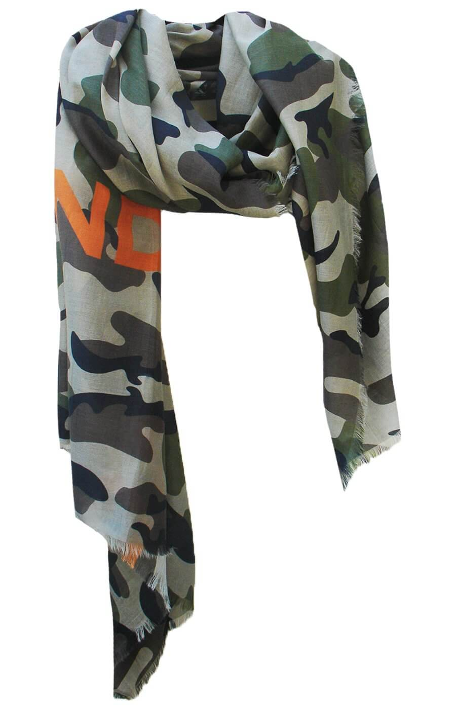 D/Luca Camouflage Unconditional - Silk Cotton Blend
