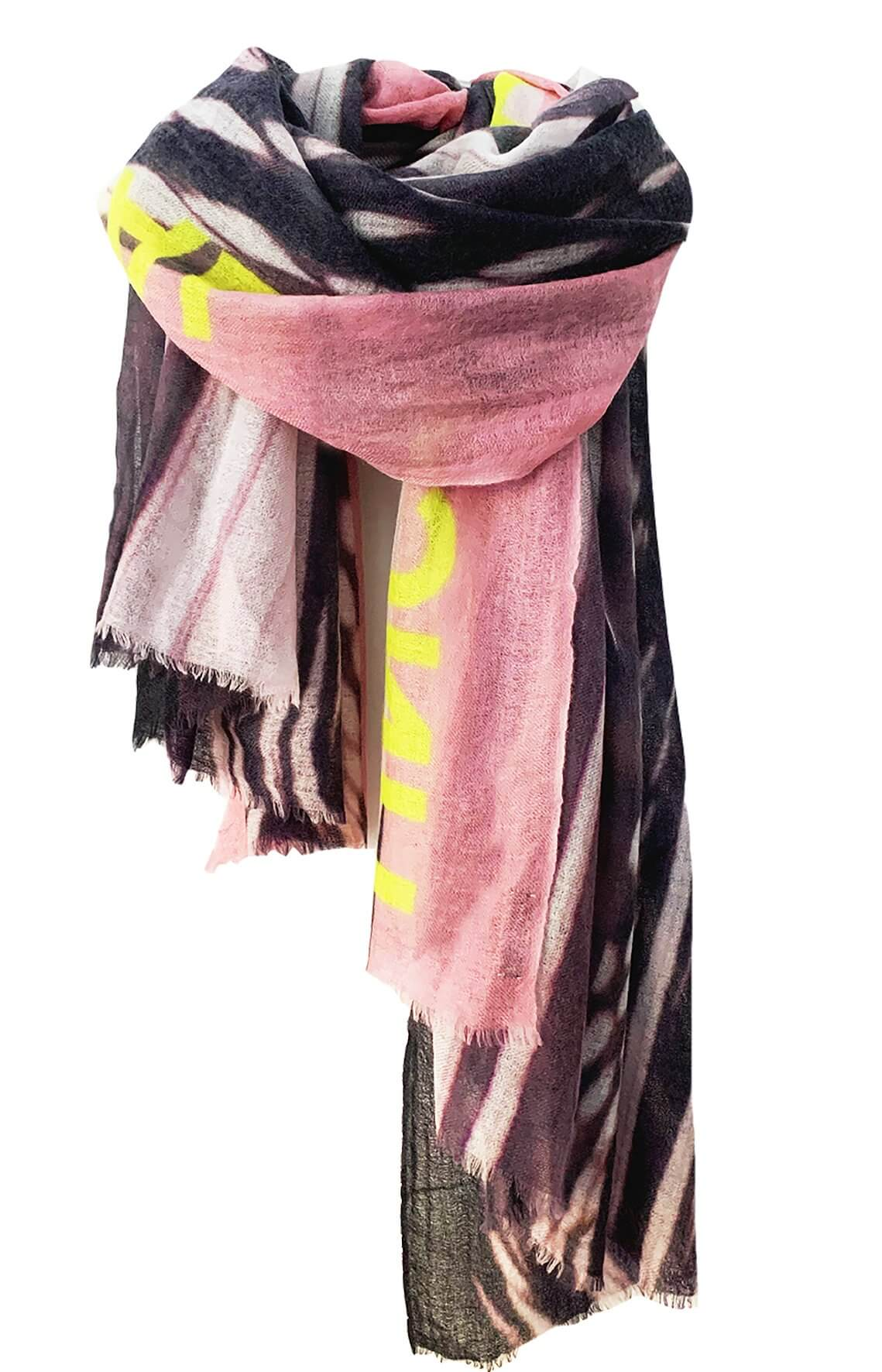 D/Luca Feather Unconditional Nude - Fine Cashmere Scarf