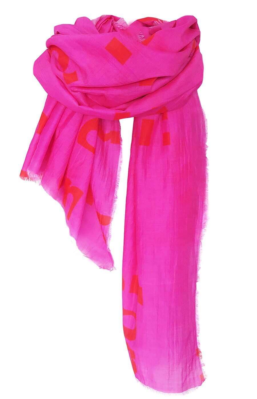 Typo - Pink - Silk Cotton Blend