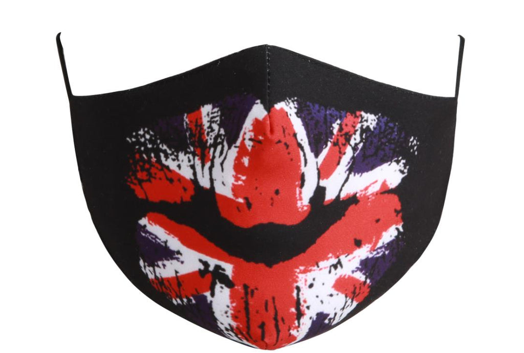 Cotton Tailored Mask - Low Key Brit!