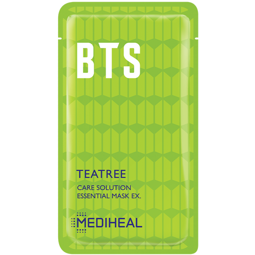 Image of Teatree Care Solution Essential Mask. Part of the BTS Hydrating Moisture Care collection.