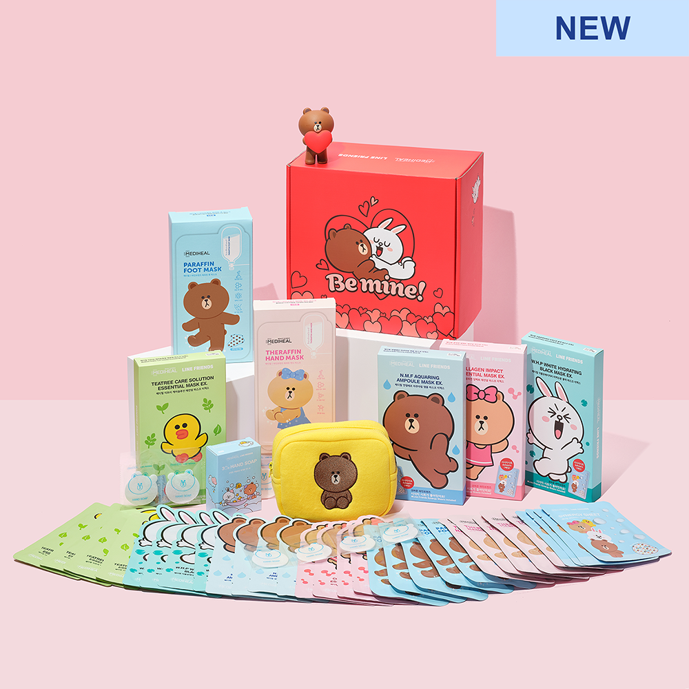 Line Friends Be Mine Gift Set