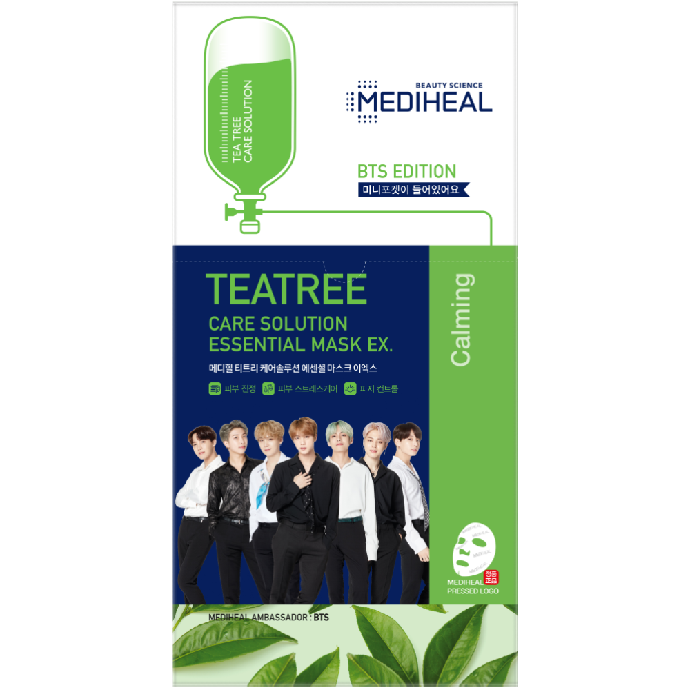 BTS Edition Tea Tree Care Solution Essential Mask Ex.
