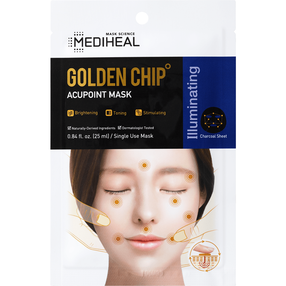 Golden Chip Acupoint Mask