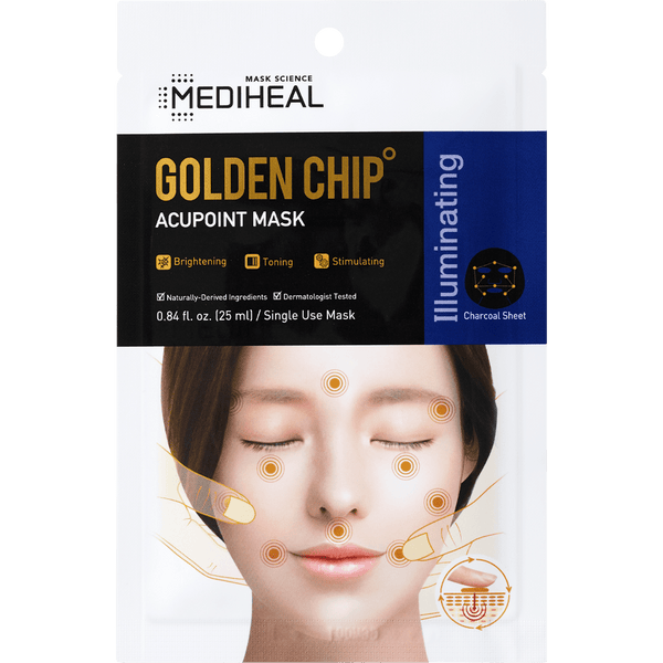 Golden Chip Acupoint Mask - Mediheal US