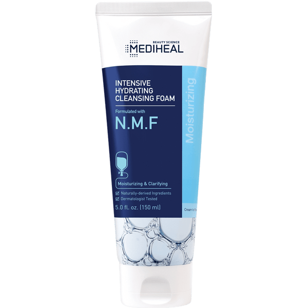 N.M.F Intensive Hydrating Cleansing Foam - Mediheal US