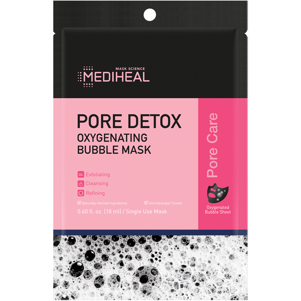 Pore Detox Oxygenating Bubble Mask