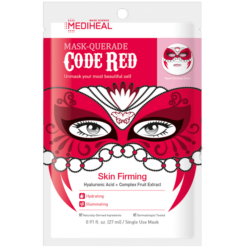 Mask-Querade Code Red Mask