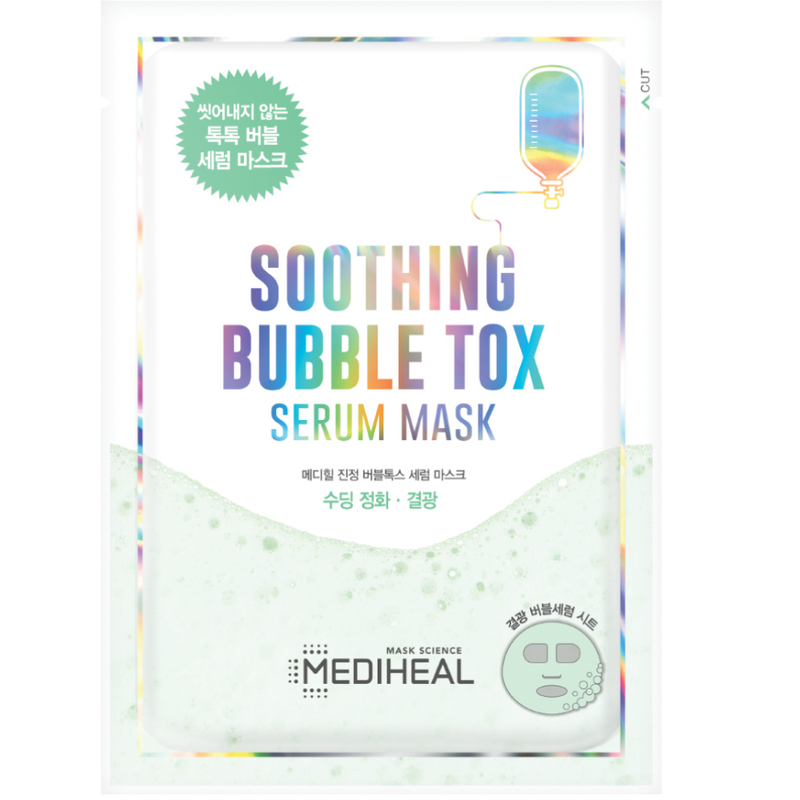 Soothing Bubble Tox Serum Mask - Mediheal US