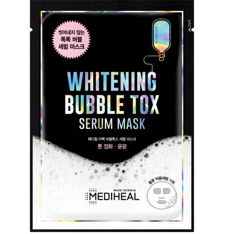 Brightening Bubble Tox Serum Mask - Mediheal US