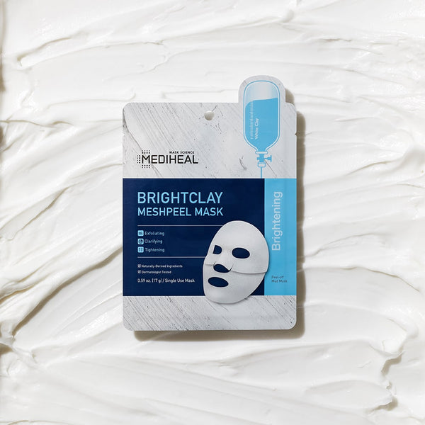 BrightClay MeshPeel Mask - Mediheal US