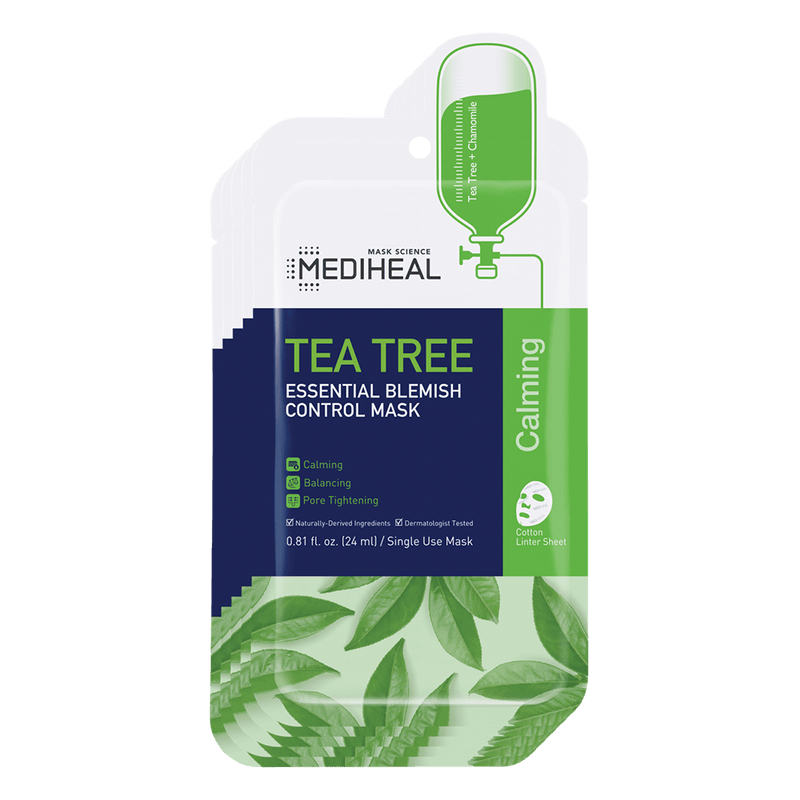 Tea Tree Essential Blemish Control Mask - Mediheal US